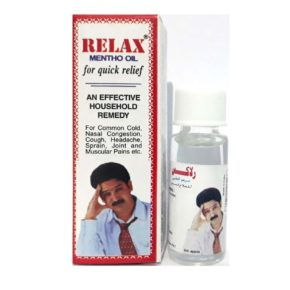 Relax mentho oil