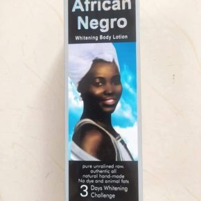 African Negro whitening body Lotion