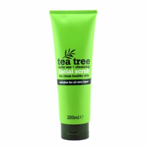 tea tree facial scrub