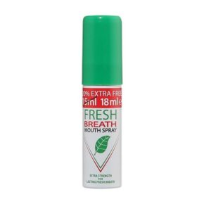 fresh breath mouth spray